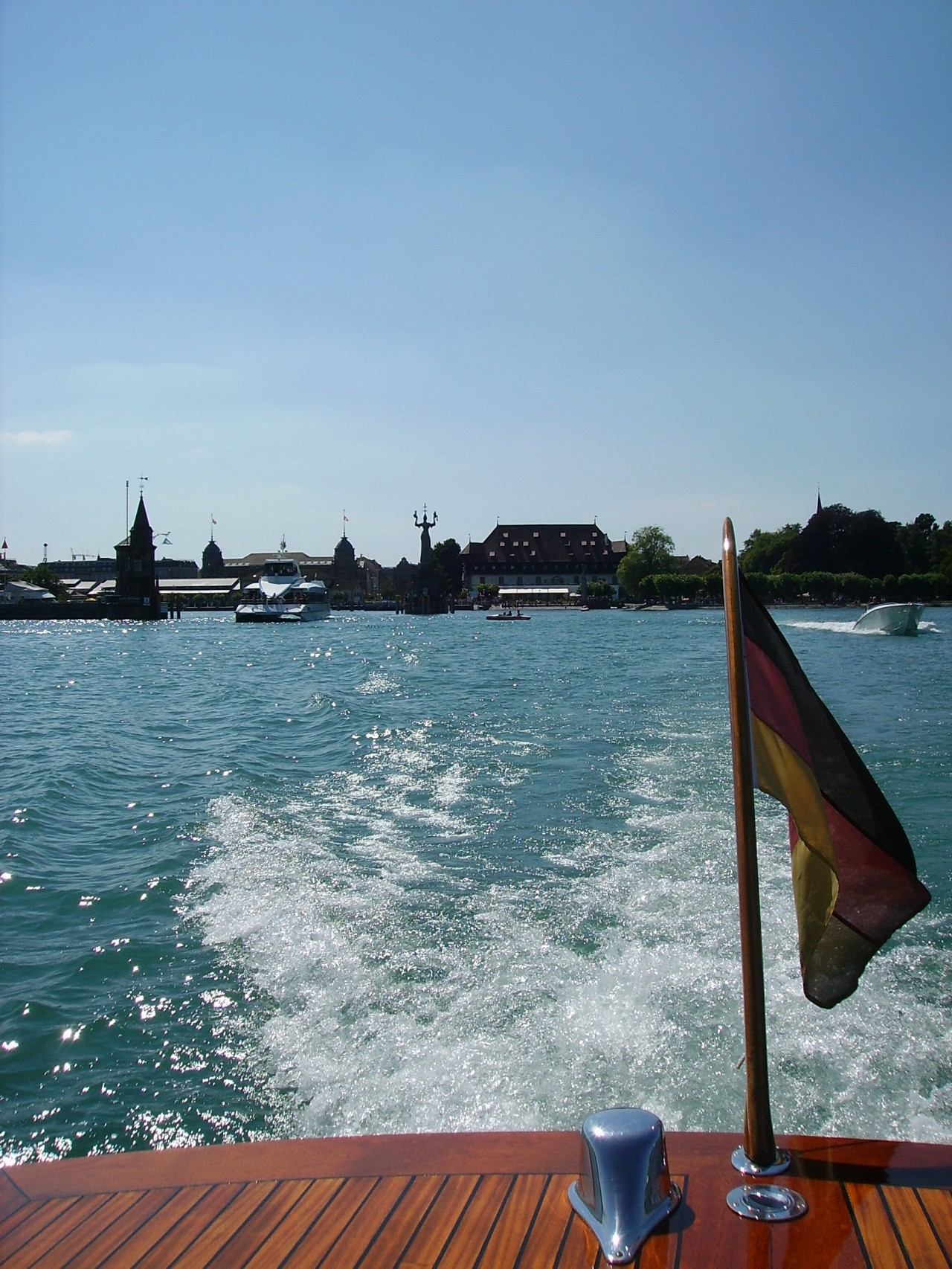 Boat trip on the Lake Constance